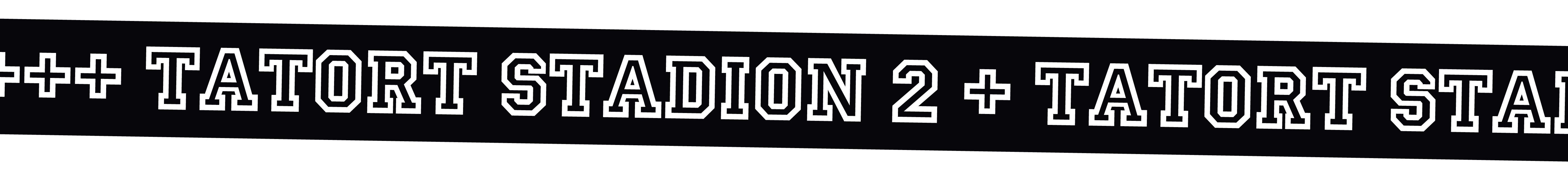 Banner lang schwarz